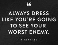 MY STYLE - The Rules / The endless search for my personal style is still on.. Black on black. Frumpy to pumpy.