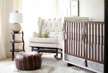 Nursery Decorating Ideas / Beautiful nurseries all in one space. Gender neutral nursery - baby boy nursery - baby girl nursery
