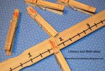 School Creativity / Teach math concepts with straws?  Use water bottles as reading and math centers?  For unique and fun ways to teach, visit my blog www.literacymathideas.blogspot.com / by LiteracyMath Ideas