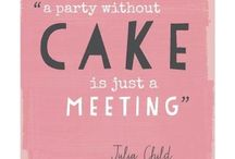 Baking: Have Your Cake and Eat it Too / Recipes and tips for frosting, decorating and baking cakes along with gorgeous images and presentation ideas for inspiration. / by Abby Strong