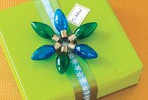 Creative Gifts and Wrap / Tons of unique gifts and creative ways to package them! / by Abby Strong