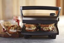 Foodie: Panini Press: Paninis and Other Delicious Sammies / I love my panini press - easy to use, easy to clean and endless variations on classic sammies! / by Abby Strong