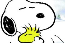 *ANIMALS Happiness is a Warm Puppy / Snoopy was my childhood hero!  / by Abby Strong