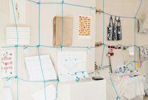 Vertical storage / walls, ladders, racks, pins, ... / by Nana Meri