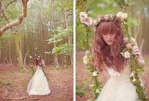 {I do} Enchanted Forest ♥ / For the nature loving bride who believes in fairies and unicorns and love and magic xxx