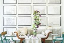 wall design ≡ gallery walls ≡ wall decor ≡