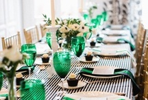 Tablescaping / Decorating tables for parties, holidays, and everyday. / by Holly Cuperus