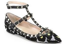 Stylish Ballet Flats, Loafers, Resort Sandals & Wedges / by Gidget Bowden