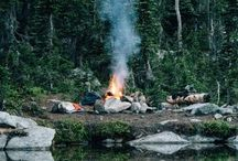 The Great Outdoors / A collection of camping inspiration, potential campgrounds, places I'd like to travel & awesome images that take place in the great outdoors. / by Briana Kranz - Illustration