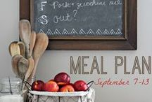 Meal Planning / Meal planning - weekly menus - freezer meals - meal prep / by Christina's Adventures