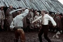 """58.TRYLOGIA - Film - kostiumy XVII Polska / Trilogy - """"With Fire and Sword""""/ 1999, """"The Deluge""""/ 1974 (redivivus 2014), """"Mr. Wołodyjowski""""/ 1969 / Polish historical dramas film directed by Jerzy Hoffman/ Based on three novels written by Henryk Sienkiewicz. / The story is set in the XVII century in the Kingdom of Poland - Republic three nations ( lands belonging to Poland - Ukraine and Lithuania )."""
