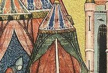 8.Namioty średniowieczne / Ikonografia, zabytki z epoki - oraz - współczesne rekonstrukcje