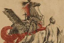15.XVII - Koń / Horse / Oporządzenie konia w XVII w. - w typie wschodnim oraz zachodnim.