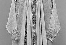 17.XVII - koszule, kołnieże, mankiety, chustki, fartuszki, pończochy