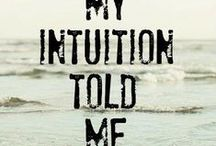 ➽ Intuition