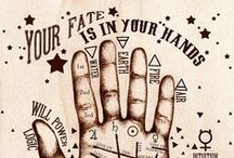 ➽ Chiromancie -  Palmistry