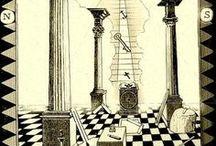Tracing Boards / http://freemasonry.network/masonic-structures/masonic-lodge/masonic-lodge-equipment/tracing-boards/