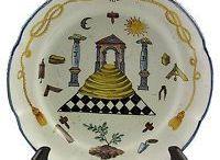 Masonic Plates