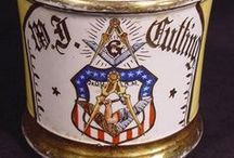 Masonic Pottery