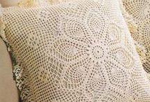 szydełkowanie - poduszki
