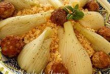 Tunesischer Couscous & Co by Jacey Derouich / Hauptgerichte aus der tunesischen Küche, alles rund um den Couscous