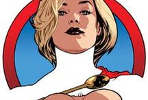 COMICS • Power Girl / The alternate version of Supergirl from Earth-2, Kara Zor-L is more mature and experienced than her Earth-0 counterpart. The best friend of Batman's Earth-2 daughter, Huntress, she operates as one of her Earth's greatest heroes.