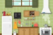 HOME • Kitchen