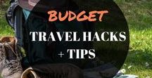BUDGET TRAVEL HACKS + TIPS / This board will showcase all your travel hacks, international travel tips, packing advice, places to visit, cheap flights, plane hacks, travel tips, packing, long flights, infographics, toiletries, international, road trip, backpacking, airplane, carry on, camping, cruise, suitcases, organisation, money.