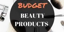 BUDGET BEAUTY PRODUCTS / This women's beauty board has all your makeup products and budget dupes. Products, skincare, hair colours, saving money, simple.