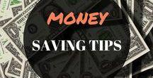 MONEY SAVING TIPS / Money saving tip, hacks, advice, strategies, jar, budget, frugal living, goals, home, challenge, techniques.