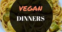 VEGAN DINNERS / You go to board for anything vegan and dinners. This will include vegan dinner recipes, vegan inspiration, vegan cooking tips, and anything for beginner vegans or those used to a vegan diet and lifestyle.