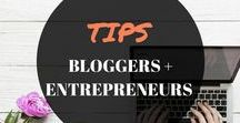 TIPS BLOGGERS + ENTREPRENEURS / Anything blogging and entrepreneur tips. Tips and ideas for beginners, inspiration, planners, advice, how to make money online, motivation, quotes, money saving.