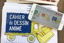 """Partenariat Vinci Autoroutes - Cahier de Dessin Animé / 90 000  Cahiers de Dessin Animé offerts sur les aires d'autoroute pour apprendre la sécurité routière et l'univers du """"petit bonhomme en jaune"""""""