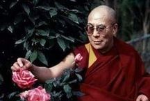 His Holiness the Dalai Lama who is a simple monk :)