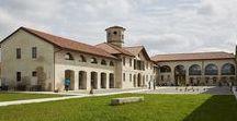 Centro culturale Ikeda | serramenti in ottone brunito / Cultural Centre Ikeda | burnished brass windows and doors