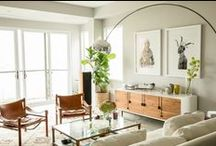 Mid-Century Style / The clean lines and warmth of Mid-Century Modern design never go out of style.