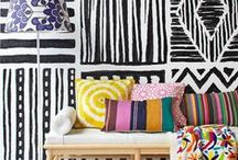 Patterns /  From gingham to zebra print and everything in between, this board is all about playing with pattern to show off your personal style. / by west elm