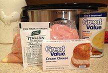 Crockpot cooks / by Michelle Bishop