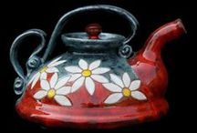 I'm a little Teapot... / different designs, styles, colors, & makers of Teapots / by Vintage Butterfly