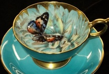 Teacup of Life / 'Life is like a teacup, to be filled to the brim, & enjoyed with friends.' / by Vintage Butterfly {>i<}