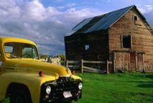 Barns / by Vintage Butterfly {>i<}