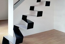 Elements - Stairs / Steps, stairs, ways of moving between one floor and another. / by John Lancaster / Architect
