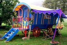 Gypsy Caravan / free to travel on / by Vintage Butterfly