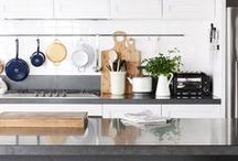 Pantry + Kitchen / There's something about a beautiful kitchen that makes our hearts go aflutter. Find inspiration for kitchen renovation, organization, and decoration here! / by west elm