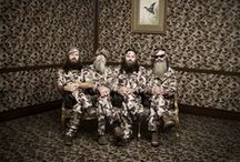 Duck Dynasty!!!!! / Cast of the reality show that follows the Robertsons, a family that own & operate a thriving duck call & decoy business in Louisiana bayou: CEO of Duck Commander...Willie Robertson, Family patriarch...Phil Robertson, Willie's brother...Jase Robertson, & of course, Uncle Si. / by Vintage Butterfly