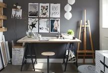 You Better Work / Great work happens when you're inspired. Find ingenious organization ideas, functional décor, and inspiration for creating the best home office ever.