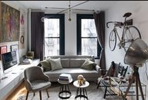 Small Space Living / Living in a small space can be challenging. Here are ways to make the most of it in style.