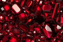 "July—Ruby / Ruby is one of the most historically significant colored stones. Rubies are mentioned four times in the Bible, associated with beauty and wisdom. In the ancient language of Sanskrit, ruby is called ratnaraj, or ""king of precious stones."" As a symbol of passion, ruby makes a romantic gift."