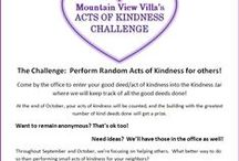 Acts of Kindness Challenge Sept-Oct 2014 / Ideas, quotes, pics, etc about being kind!  We are focusing these two months on helping others, and what better way to do so than a few acts of kindness??  :)  Join in the fun, and spread the love!
