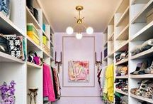 Dream Closets / Whether it's reorganizing your closet to be more extravagant or designing a full walk-in closet that the Kardashians would be envious of, these closets are sure to make all your wardrobe dreams come true.